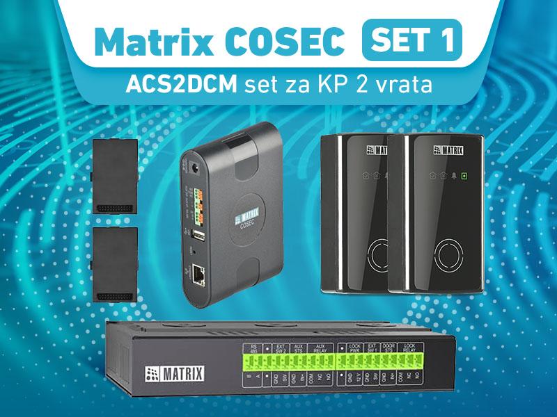 Matrix COSEC ACS2DCM set za KP 2 vrata