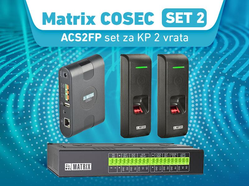 Matrix COSEC ACS2FP set za KP 2 vrata